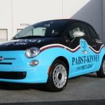 Fiat 500 Vehicle Wrap