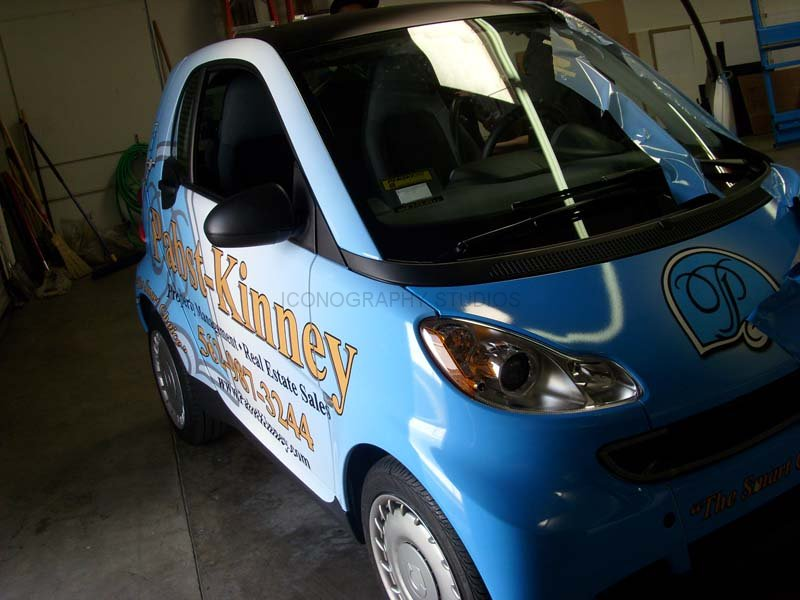 How To Wrap A Car >> Smart Car Vehicle Wraps