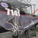 Jr Dragster Wrap Custom Design by Iconography
