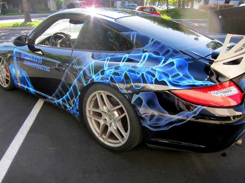 Porsche Race Graphics By Iconography Orange County Ca