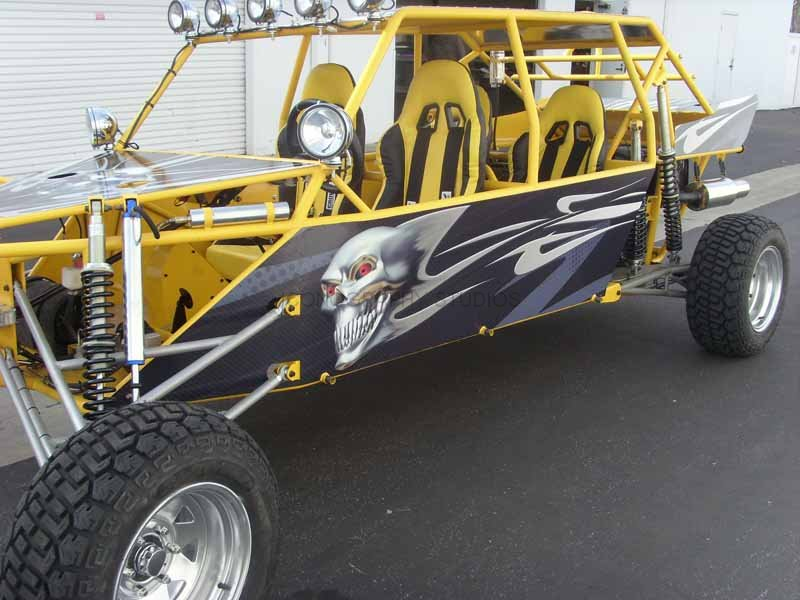 Custom Sand Rail Graphics