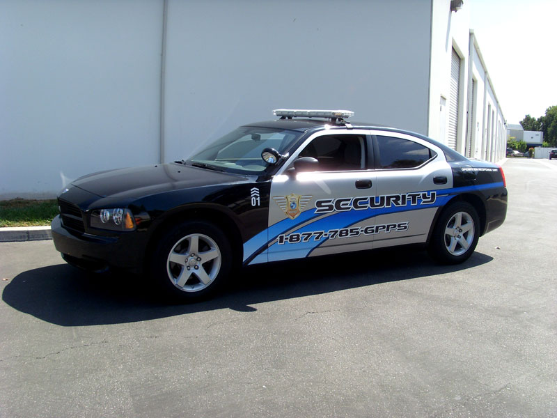 Toyota Of Orange >> Patrol Car Partial Wrap | Orange County