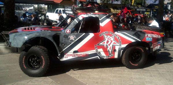 Full Trophy Truck Wrap For Rfs Motorsports Mission Viejo Ca