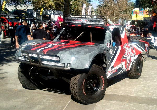 Full Trophy Truck Wrap For Rfs Motorsports Mission Viejo Ca