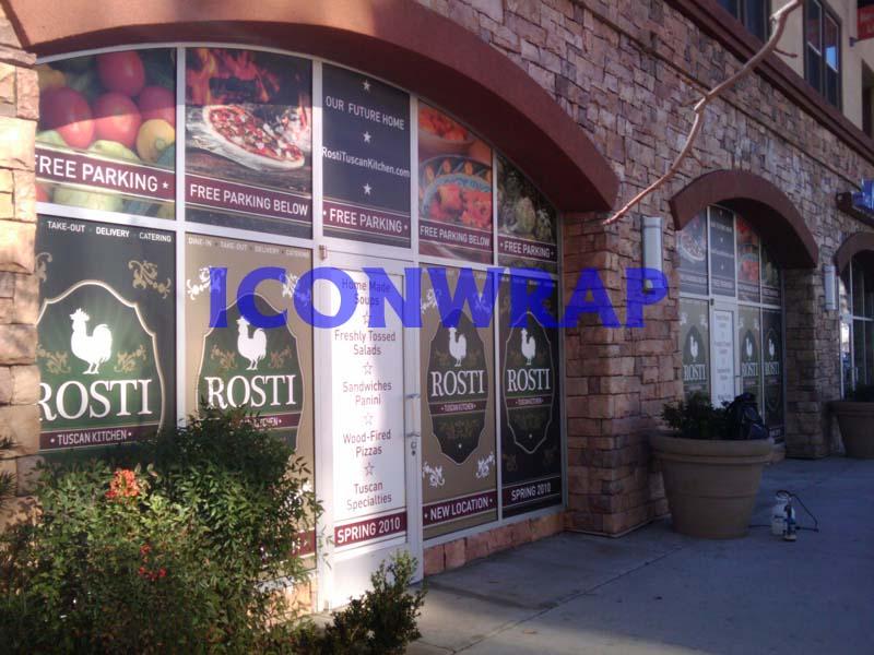 Rosti Tuscan Kitchen Window Wraps