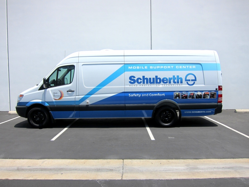 Sprinter Van Partial Vehicle Wrap By Iconography Aliso