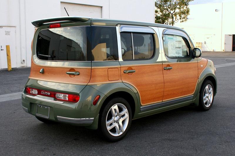 Matte Blue Car >> Nissan Cube Woody Customization