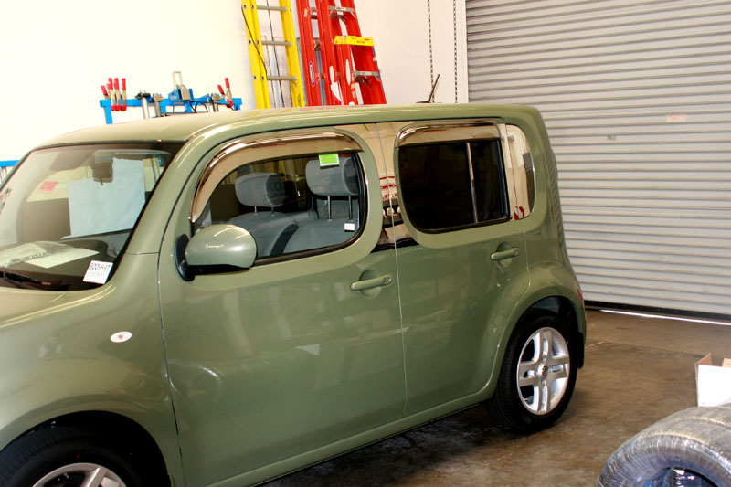 Nissan Cube Woody Customization