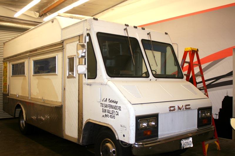 Matte Black Truck >> Taco Truck Wrap for Taco Shop Movie | Long Beach, CA