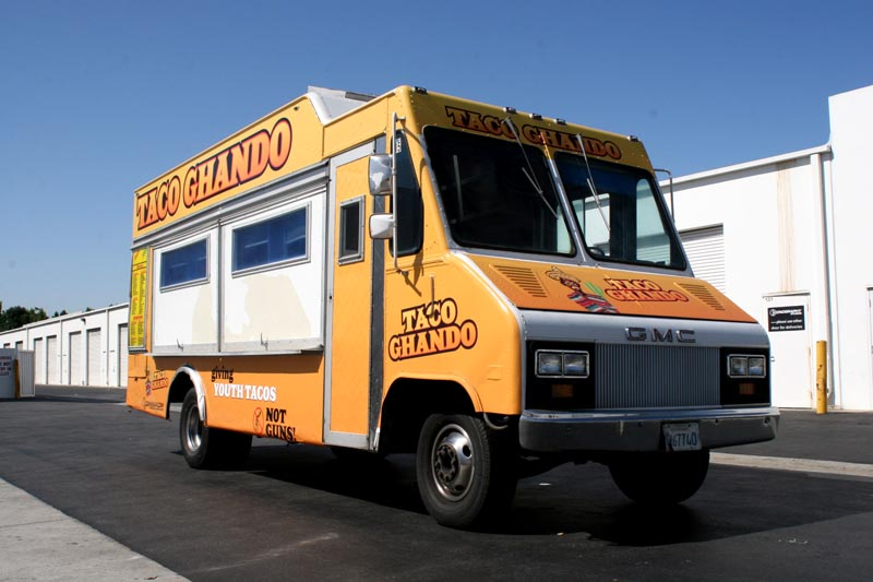 Custom Food Truck Graphics