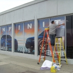 Window Wrap Installation