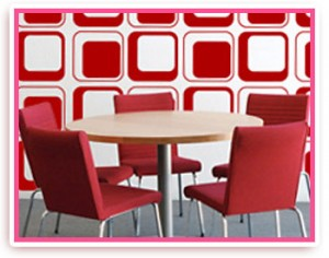 Digital print wall graphics