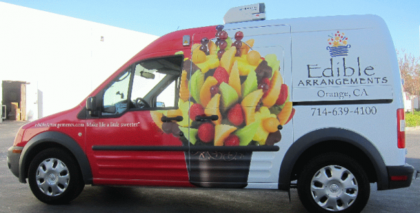 Nissan Cargo Van >> Ford Transit Connect Wrap Does Double Duty | Orange CA