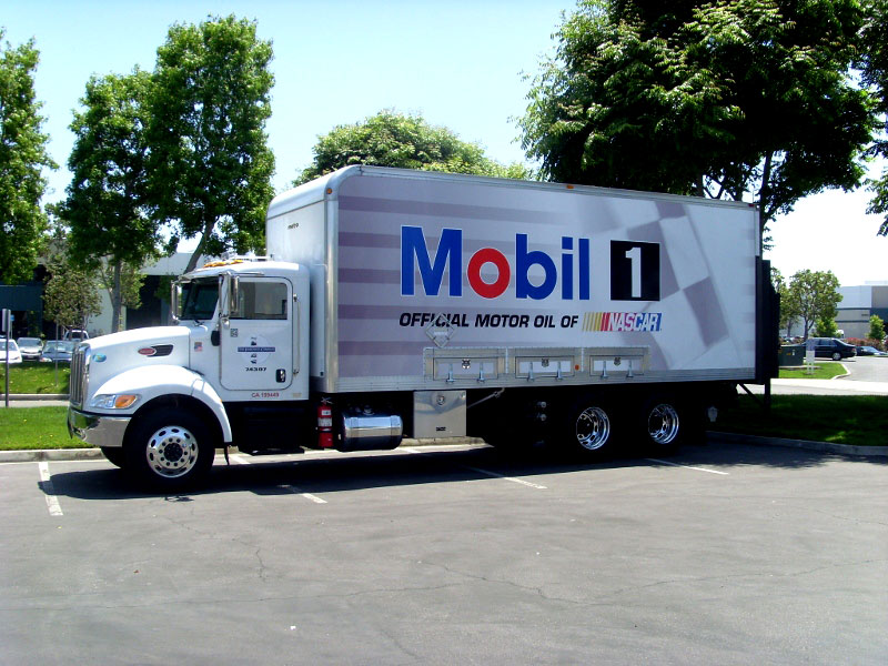 Box Truck Wrap for Mobil by Iconography | San Pedro CA