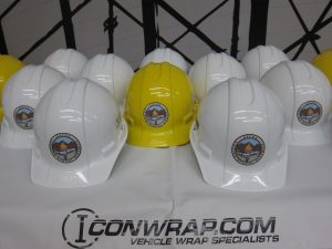 Custom Hard Hat Decals