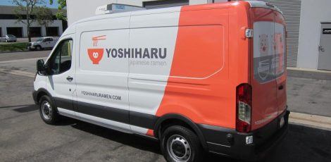 Ford Transit Partial Wrap